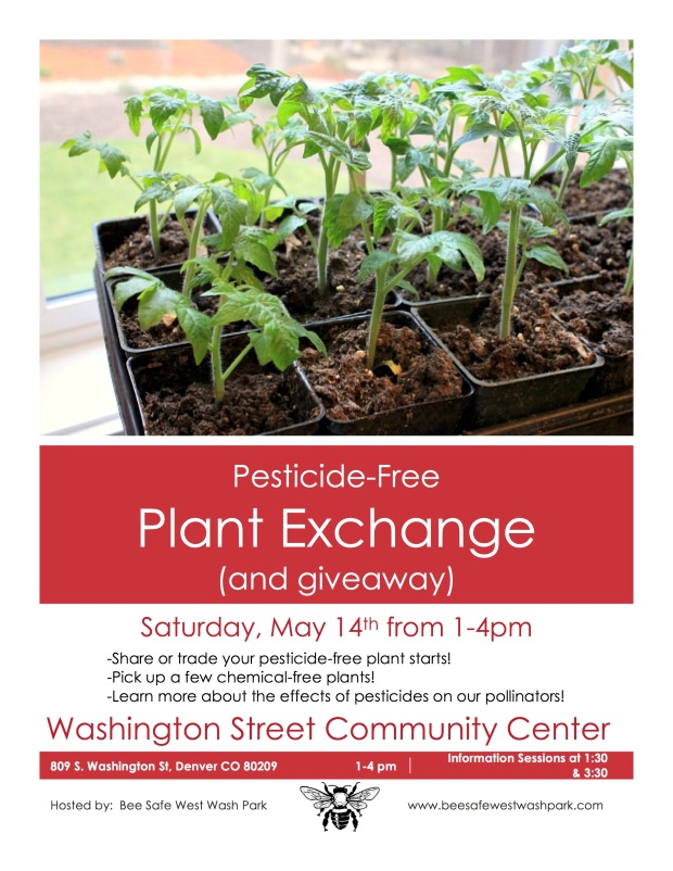 plant exchange flyer