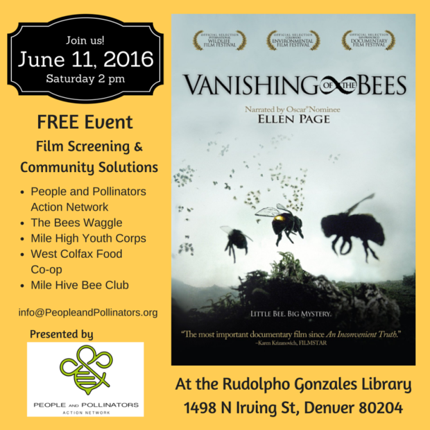 Jun 11 Vanishing of the Bees