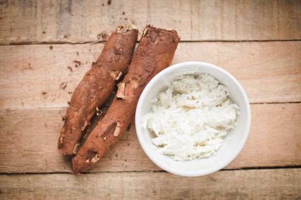 yucca root and pulp